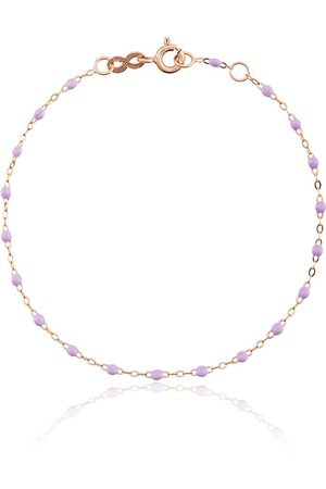 GIGI CLOZEAU Women Bracelets - 18kt rose gold Classic Gigi lilac beaded bracelet