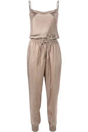 Cinq A Sept Finnley cowl neck jumpsuit - Metallic