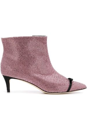 MARCO DE VINCENZO Women Boots - Boots with rhinestones and bow