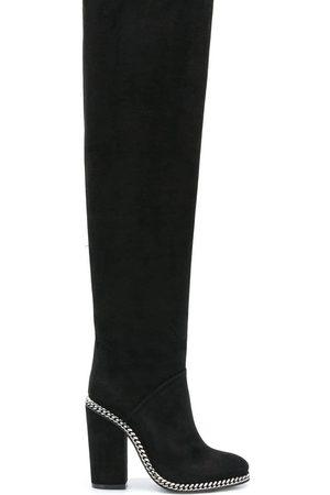 Balmain Women Thigh High Boots - Knee-high boots