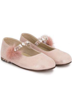 Babywalker Girls Ballerinas - Rhinestone embellished ballerinas
