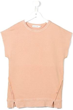 Le pandorine Girls Casual Dresses - Fleece sweat dress - NEUTRALS