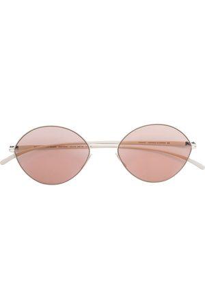 MYKITA X Maison Margiela round-frame sunglasses - Neutrals