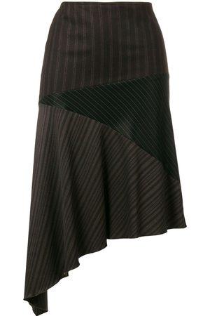 ROMEO GIGLI Women Asymmetrical Skirts - Asymmetric draped skirt