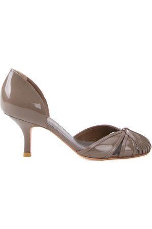 Sarah Chofakian Women Heels - Round-toe pumps - Grey