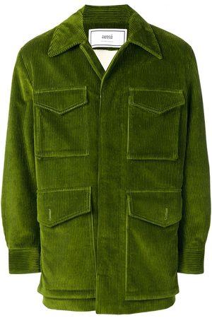 Ami Sherpa-lined Safari Jacket