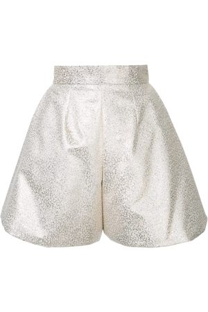Bambah Women Culottes - Glitter pleated culottes - Metallic