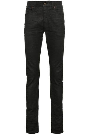 Saint Laurent Men Skinny - Coated skinny jeans