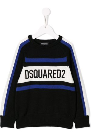 Dsquared2 Boys Sweaters - Knitted logo sweater