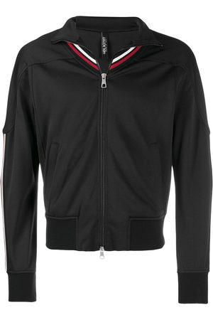Neil Barrett Men Sports Jackets - Striped-detail zip-up jacket
