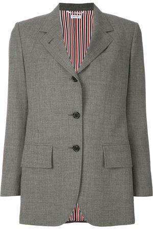 Thom Browne Wide Lapel Sport Coat - Grey