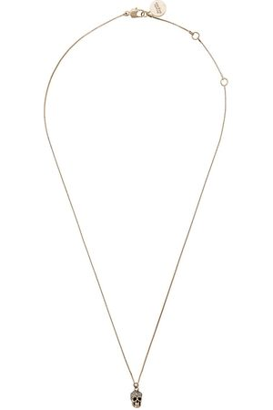 Alexander McQueen Women Necklaces - Pave skull necklace