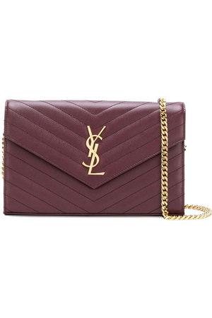 Saint Laurent Women Wallets - Monogram chain wallet