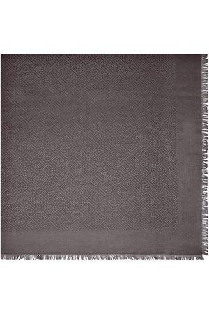 Fendi Signature Shawl - Grey