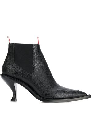 Thom Browne Women Ankle Boots - Brogue-detail 90mm ankle boots