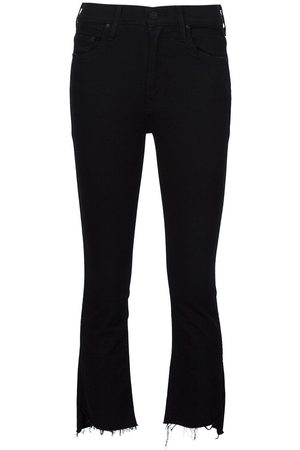 Mother Women High Waisted - Insider high-rise cropped jeans