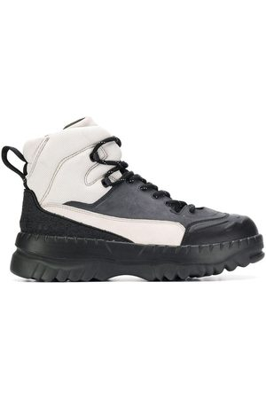 Camper X Kiko Kostadinov two-tone boots - Grey