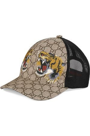 Gucci Tigers print GG Supreme baseball cap - Neutrals