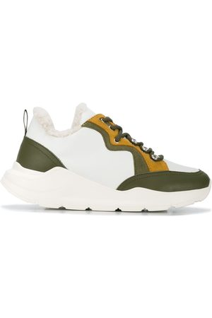 YVES SALOMON Colour block sneakers