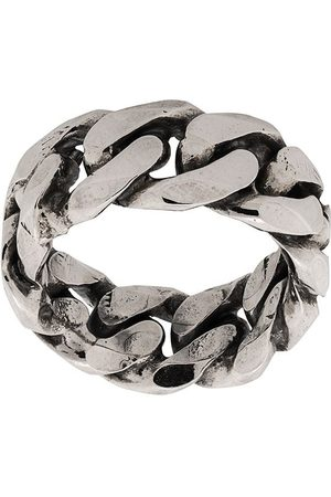 EMANUELE BICOCCHI Rings - Rigid curb chain-style ring