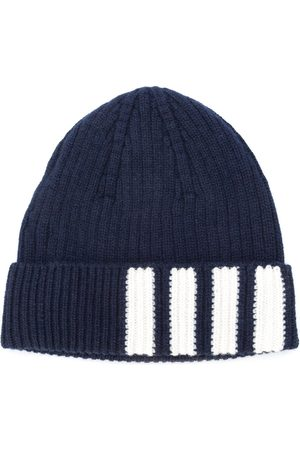 Thom Browne 4-Bar striped beanie