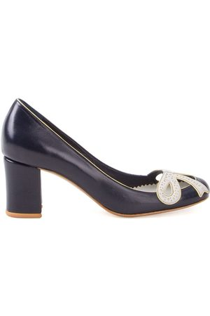 Sarah Chofakian Women Pumps - Chunky heel pumps