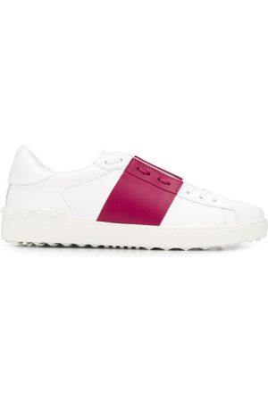 VALENTINO GARAVANI Striped lace-up sneakers