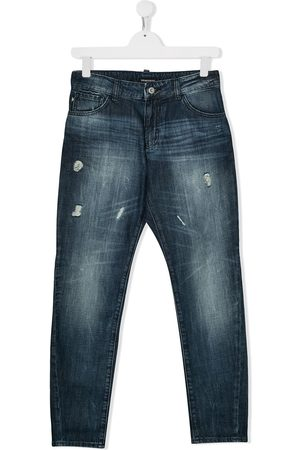 Emporio Armani Jeans - TEEN faded jeans
