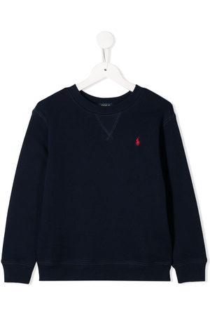 Ralph Lauren Boys Hoodies - Logo embroidered sweatshirt