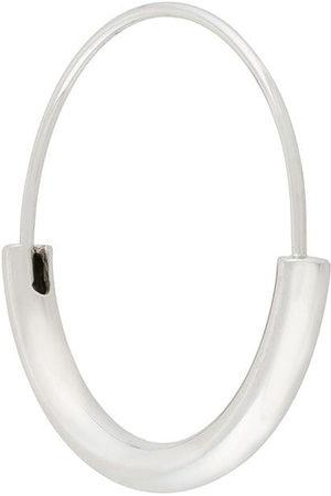 Maria Black Small Serendipity Hoop earring - Metallic