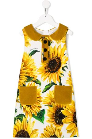 Dolce & Gabbana Sunflower print dress