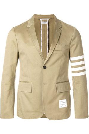 Thom Browne 4-bar Unconstructed Sport Coat - Neutrals
