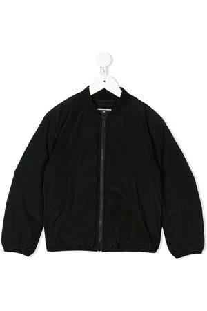 Dsquared2 Boys Bomber Jackets - Logo print bomber jacket