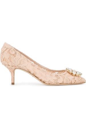 Dolce & Gabbana Bellucci Taormina lace pumps - Neutrals