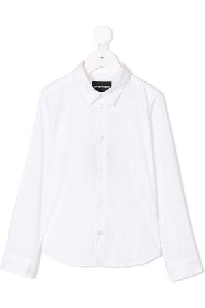 Emporio Armani Boys Shirts - Classic buttoned shirt