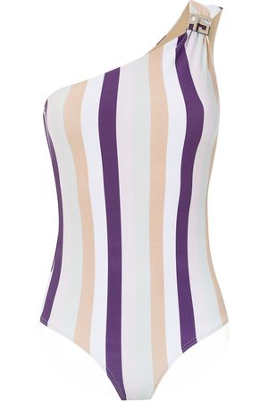 AMIR SLAMA Women Swimsuits - One shoulder swimsuit