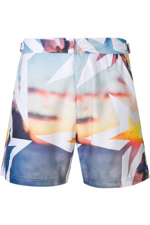 Perfect Moment Men Swim Shorts - Essential Resort print shorts - Multicolour