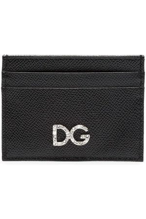 Dolce & Gabbana Diamante logo card holder