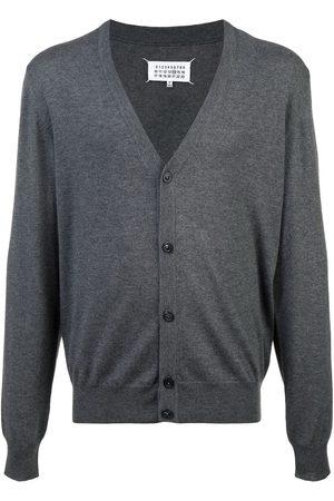 Maison Margiela Men Cardigans - Classic cardigan - Grey