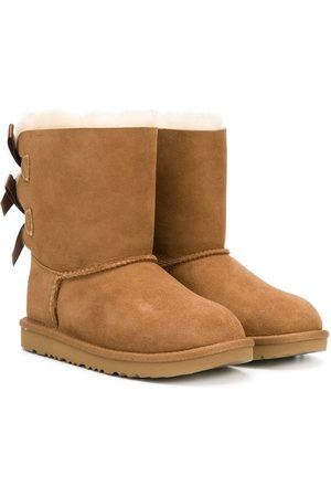 UGG Shearling bow boots