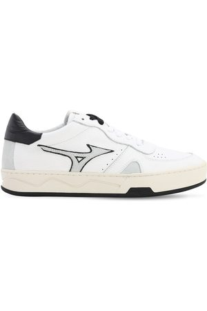 Mizuno Men Sneakers - Saiph 3 Bo Leather & Suede Sneakers