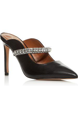 Kurt Geiger Women Pumps - Women's Duke Embellished High-Heel Mules