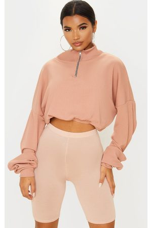 PRETTYLITTLETHING Basic Nude Bike Shorts