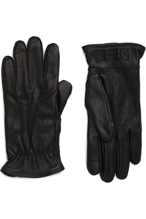 UGG Men's UGG Three-Point Leather Tech Gloves