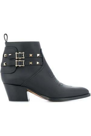 VALENTINO GARAVANI Women Ankle Boots - Rockstud 50mm ankle boots