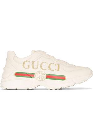 Gucci Women Sneakers - Rhyton Interlocking G sneakers