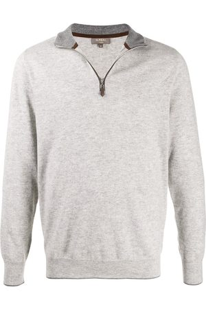 N.PEAL The Carnaby zipped jumper - Grey