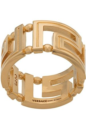 VERSACE Men Rings - Greco motif ring