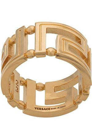 VERSACE Men Rings - Greco motif ring