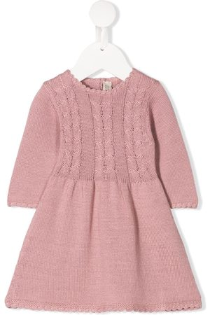 CASHMIRINO Baby Casual Dresses - Cable kit dress